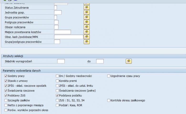 Aplikacja do kontroli poprawności przeliczenia listy płac (Payroll Checker)